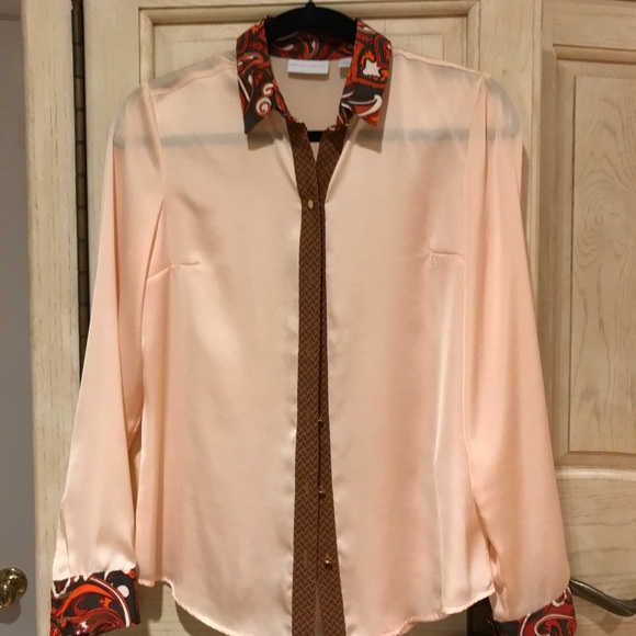 New York & Company Tops - Women's Button Up Blouse